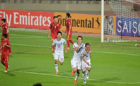 Khoanh khac U19 VN – U19 Nhat Ban: Chien dau het minh - Anh 2