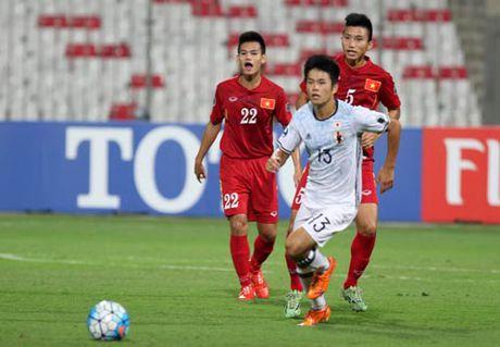 Khoanh khac U19 VN – U19 Nhat Ban: Chien dau het minh - Anh 3