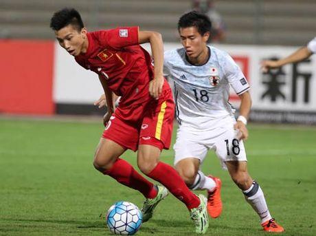 Khoanh khac U19 VN – U19 Nhat Ban: Chien dau het minh - Anh 5
