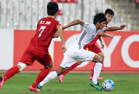 Khoanh khac U19 VN – U19 Nhat Ban: Chien dau het minh - Anh 8