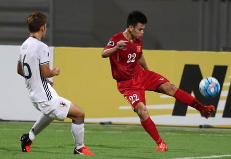 Khoanh khac U19 VN – U19 Nhat Ban: Chien dau het minh - Anh 9