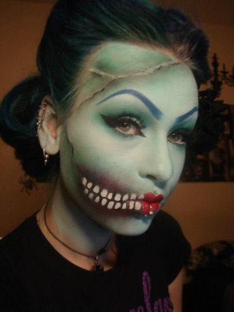 Goi y cach trang diem 'ma quai' nhat cho ngay Halloween - Anh 1