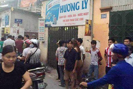 Chu tiem tap hoa bi cuop cua co tren pho Ha Noi - Anh 1
