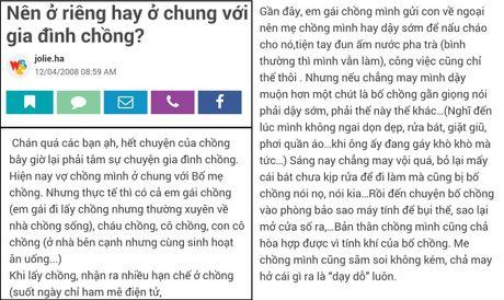 "Muon mat chuyen ""o chung, ra rieng"" - Anh 2"