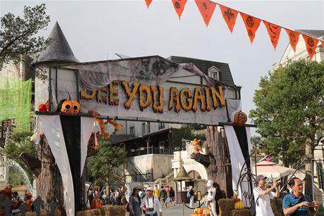 Bung no voi Le hoi Halloween tai Ba Na Hills - Anh 9