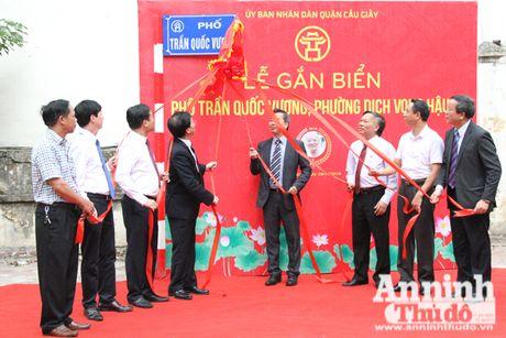 Ha Noi dat ten 3 tuyen duong mang ten cac danh nhan Truong Cong Giai, Duong Khue va Tran Quoc Vuong - Anh 3