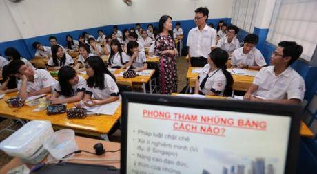 TP.HCM dua noi dung phong chong tham nhung vao giang day trong nha truong - Anh 1