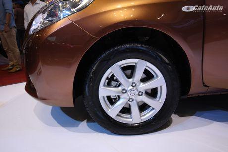 Nissan Sunny phien ban nang cap ra mat, gia ban khong doi - Anh 3
