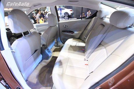 Nissan Sunny phien ban nang cap ra mat, gia ban khong doi - Anh 4