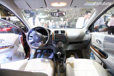 Nissan Sunny phien ban nang cap ra mat, gia ban khong doi - Anh 5