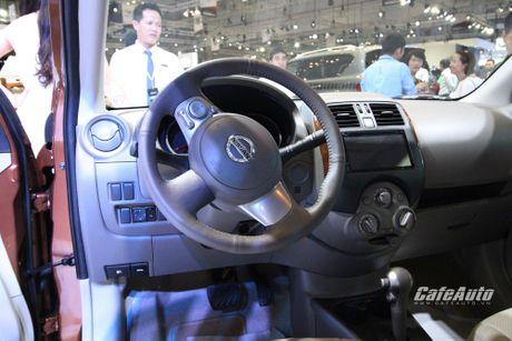 Nissan Sunny phien ban nang cap ra mat, gia ban khong doi - Anh 6