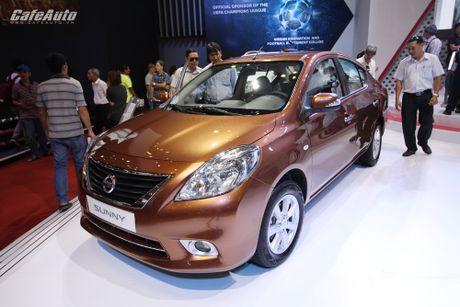 Nissan Sunny phien ban nang cap ra mat, gia ban khong doi - Anh 7