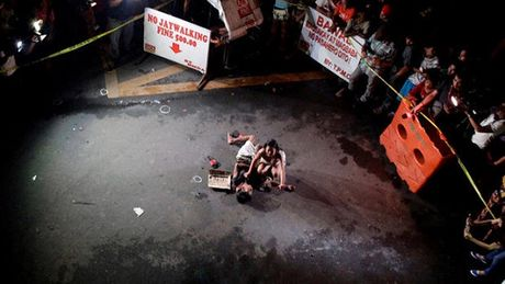 Philippines: Mot thi truong bi tieu diet do nghi buon ban ma tuy - Anh 1