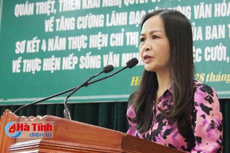 Xay dung van hoa cong so phu hop voi TP Ha Tinh len do thi loai II - Anh 2