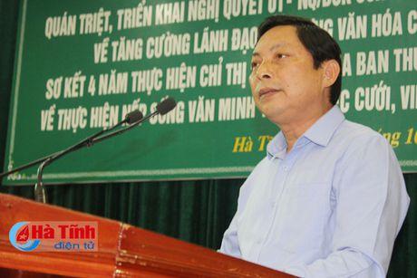 Xay dung van hoa cong so phu hop voi TP Ha Tinh len do thi loai II - Anh 3