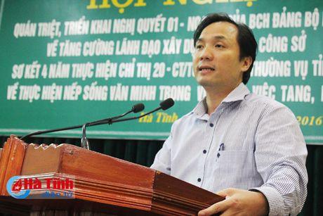 Xay dung van hoa cong so phu hop voi TP Ha Tinh len do thi loai II - Anh 5