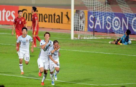 U19 Viet Nam 0-3 U19 Nhat Ban: Tan giac mong vang - Anh 1