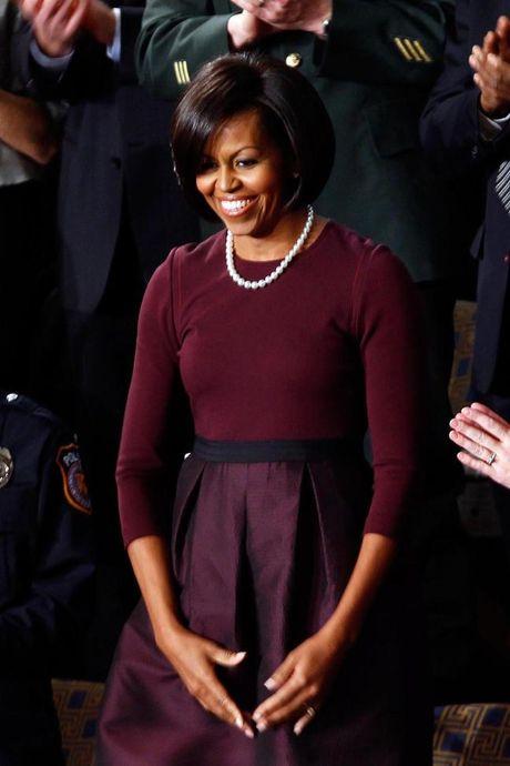 44 buc anh cho thay su thay doi trong phong cach cua Michelle Obama (Phan 1) - Anh 10