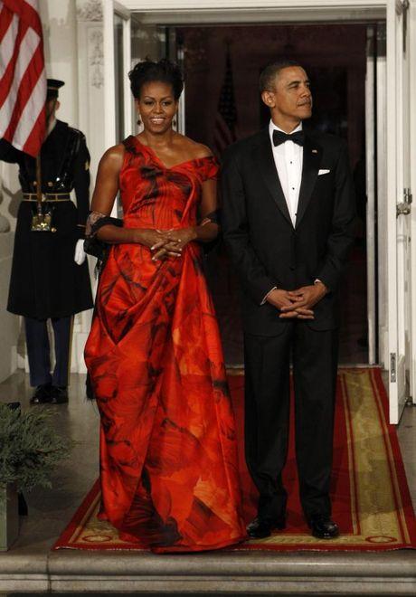 44 buc anh cho thay su thay doi trong phong cach cua Michelle Obama (Phan 1) - Anh 13