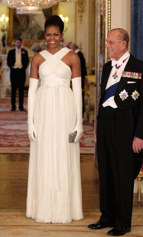 44 buc anh cho thay su thay doi trong phong cach cua Michelle Obama (Phan 1) - Anh 15