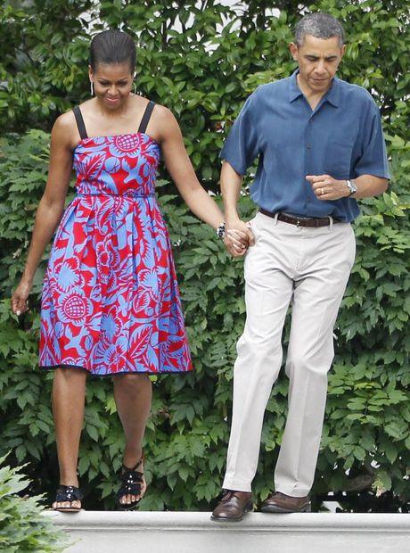 44 buc anh cho thay su thay doi trong phong cach cua Michelle Obama (Phan 1) - Anh 16