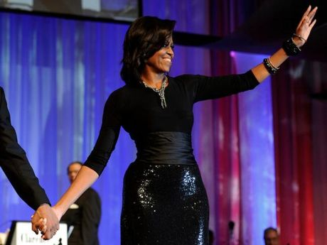 44 buc anh cho thay su thay doi trong phong cach cua Michelle Obama (Phan 1) - Anh 18
