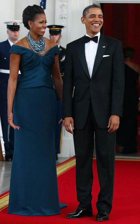 44 buc anh cho thay su thay doi trong phong cach cua Michelle Obama (Phan 1) - Anh 22