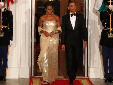 44 buc anh cho thay su thay doi trong phong cach cua Michelle Obama (Phan 1) - Anh 9