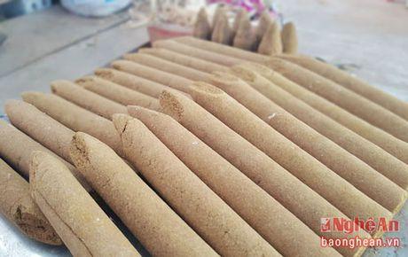 Huong tram Quy Chau vao vu san xuat hang Tet - Anh 7