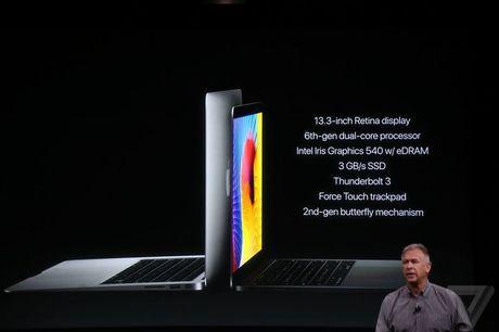 Apple ra mat bo doi MacBook Pro 2016 mong nhe, gia tu 33 trieu dong - Anh 2