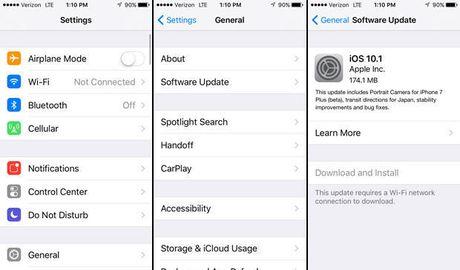 Vi sao nen nang cap iOS 10.1 ngay cho iPhone? - Anh 1