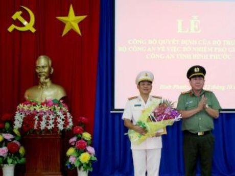 Binh Phuoc co them mot pho giam doc cong an - Anh 1