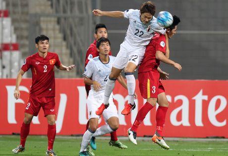 U19 Viet Nam kem toan dien truoc Nhat Ban - Anh 1