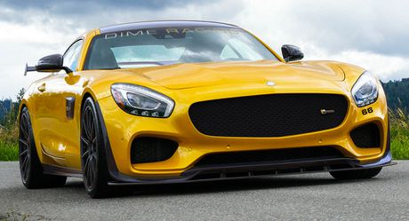 Mercedes AMG GT S do manh 745 ma luc - Anh 3
