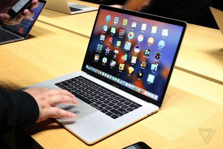 Anh MacBook Pro 2016: Sieu mong, cuc manh, them man hinh phu - Anh 1