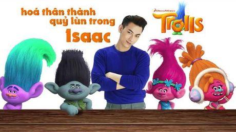 Isaac long tieng cho chu quy lun cuc mich trong 'Trolls' - Anh 1