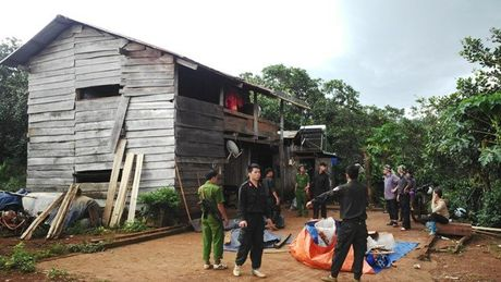 Bat 2 nghi can vu no sung khien 3 nguoi chet o Dak Nong - Anh 1