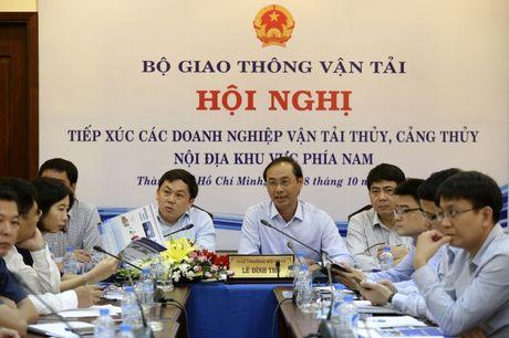 Bo GTVT go kho ve thu phi hai lan cua DN van tai thuy - Anh 2