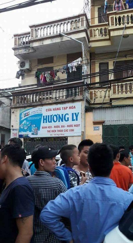 Ha Noi: Quat nga ten cuop tao ton cua co nguoi ban hang - Anh 2