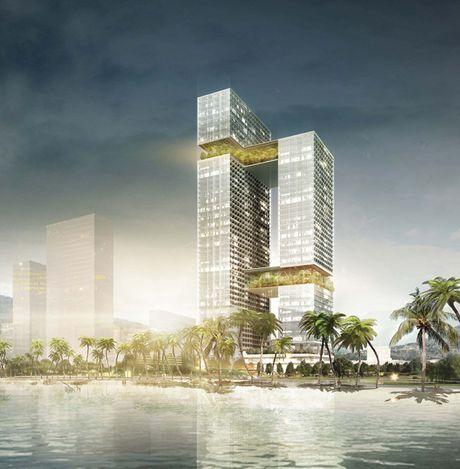 Cong ty Thuy Si dat giai Nhat thiet ke Hoa Sen Tower Quy Nhon - Anh 2