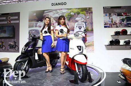 Can canh Peugeot Django - doi thu nang ky cua Vespa Primavera - Anh 1