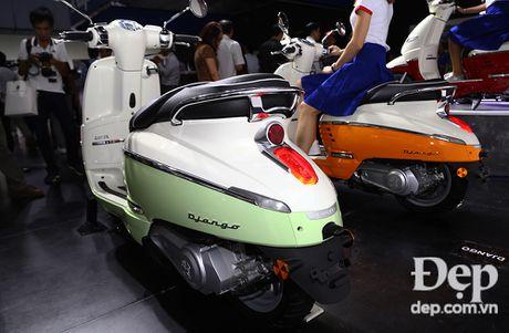 Can canh Peugeot Django - doi thu nang ky cua Vespa Primavera - Anh 7