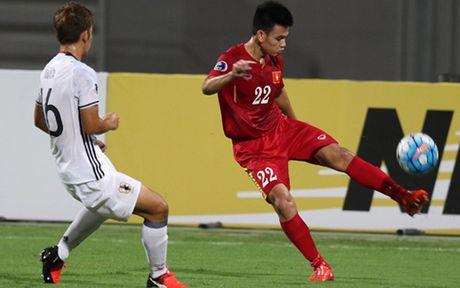 Toan canh tran thua cua U19 Viet Nam truoc U19 Nhat Ban - Anh 10