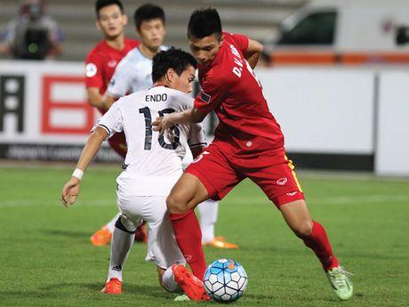 Toan canh tran thua cua U19 Viet Nam truoc U19 Nhat Ban - Anh 7