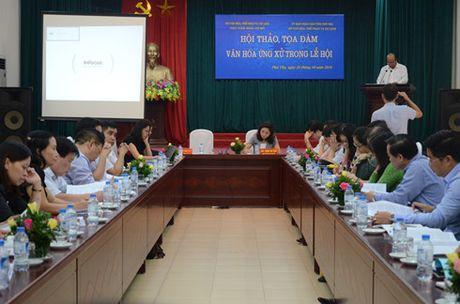 Tam ly dam dong dang chi phoi van hoa ung xu trong le hoi - Anh 1