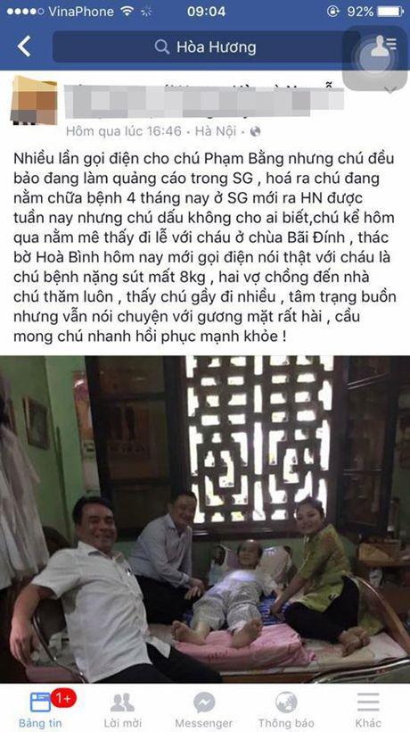 NSUT Pham Bang nghi dong phim hai Tet vi benh nang - Anh 1