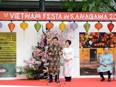 Nhat Ban: Tung bung le hoi Viet Nam tai thanh pho Yokohama - Anh 1