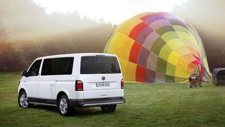 VW Multivan PanAmericana - Xe van mang trai nghiem off-road - Anh 1