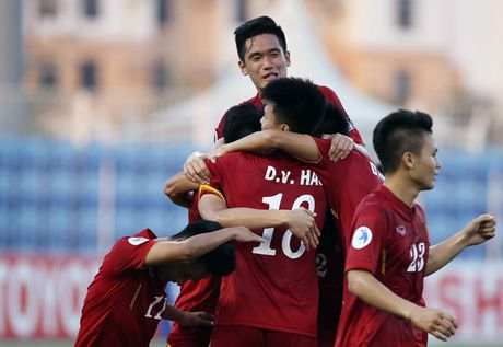 10 cau thu cua doi U19 duoc trieu tap vao DT U22 Viet Nam - Anh 1