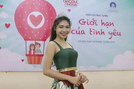 Hoa khoi Sinh vien Ha Noi 2016: Chua tung 'say nang'? - Anh 1